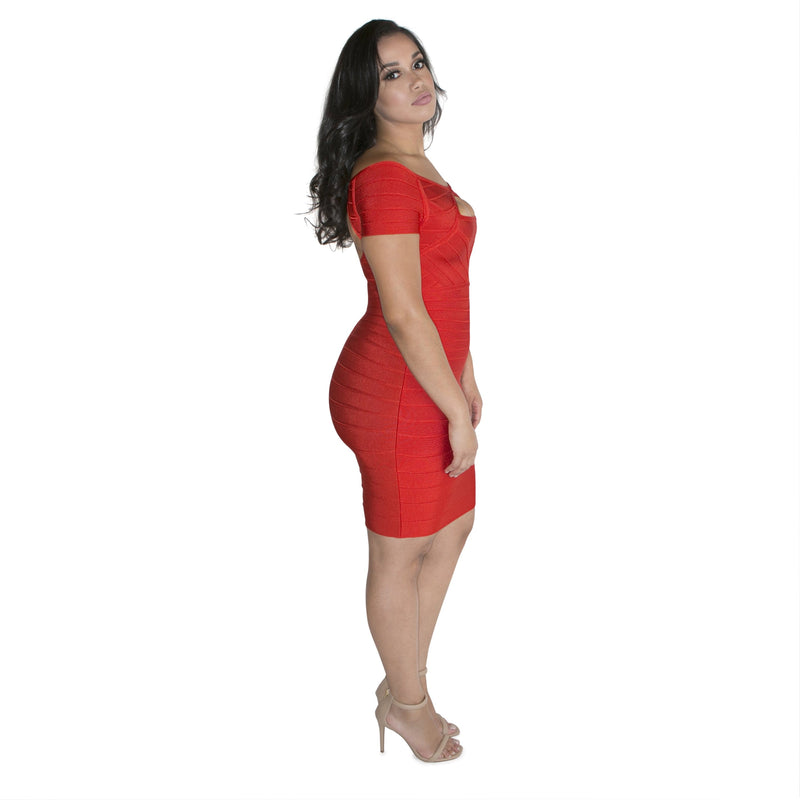 'Yasmine' Bandage Dress