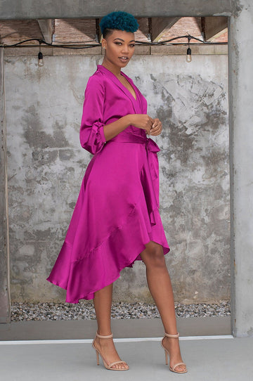 'Brielle' Wrap Dress