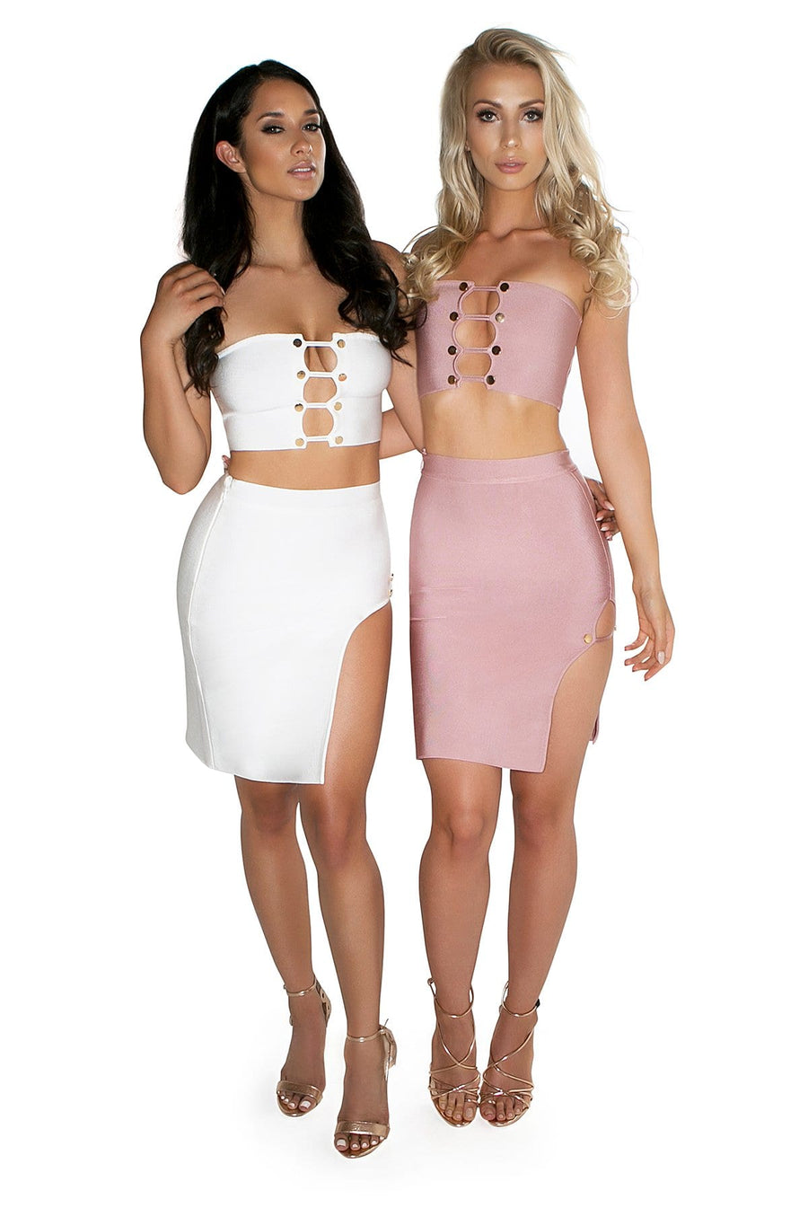 'Andromeda' Two Piece Bandage Dress