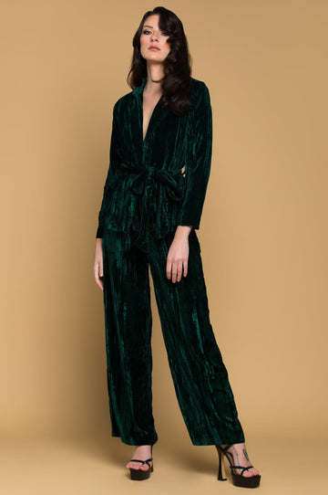 'Krysta'  Crushed Velvet Pants