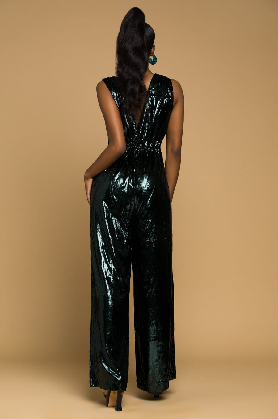 'Colette' Sleeveless Jumpsuit