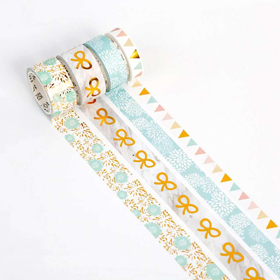Mugeno Sekai Washi Tapes - Celebrations