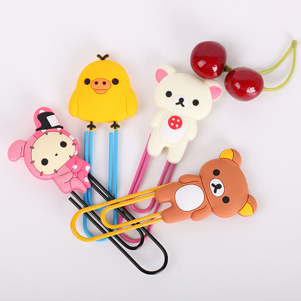 Rilakkuma & Friends Paper Clips