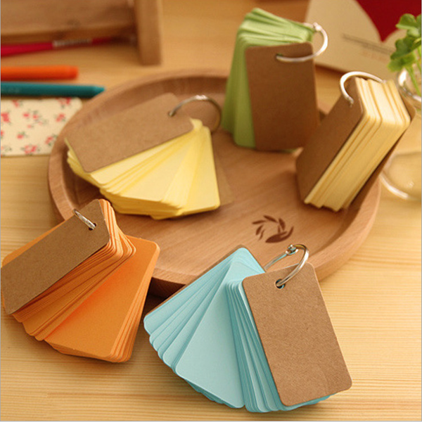 Colorful Key Ring Memo Pads