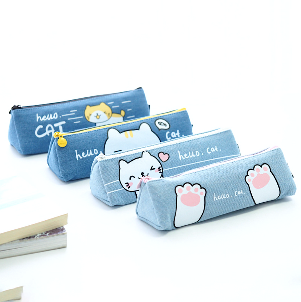 Hello Neko Pencil Case