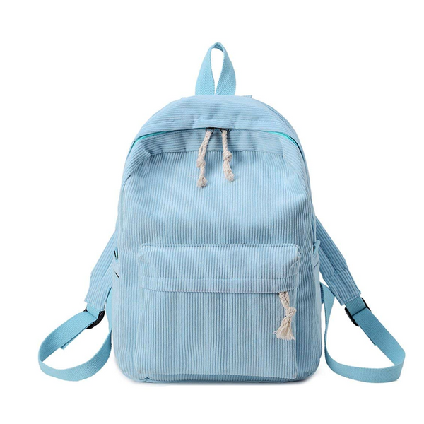 Classic Corduroy Backpack | School Bag