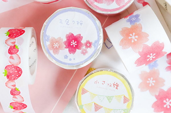 Creative Die-Cut Washi Tapes