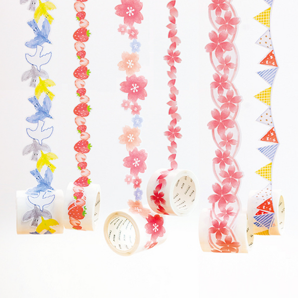 Creative Die Cut Washi Tapes