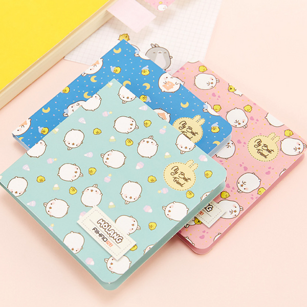 Cute Molang Rabbit Sticky Notes