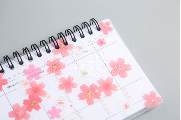 Daily & Weekly Planner Notebook