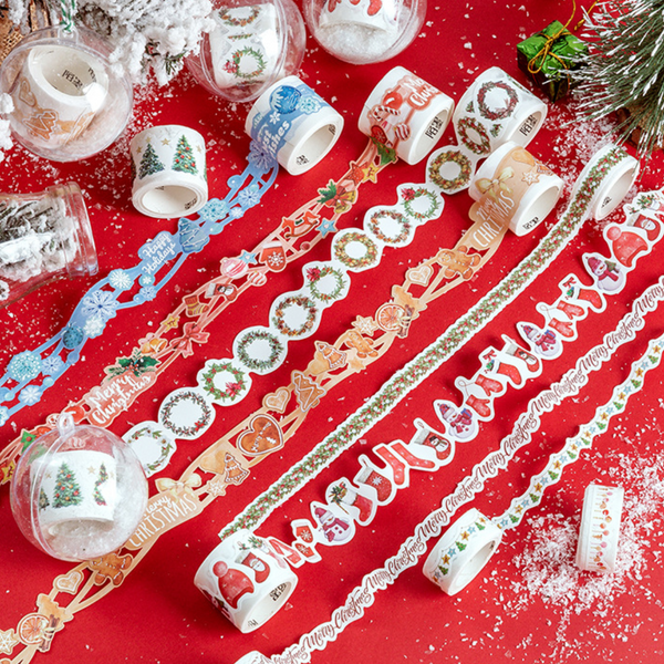 Die-Cut Christmas Washi Tapes