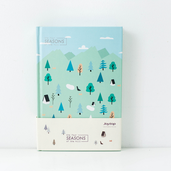 Four Seasons Hardcover Notebook