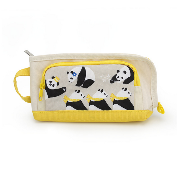 KOKUYO Large Panda Pencil Case