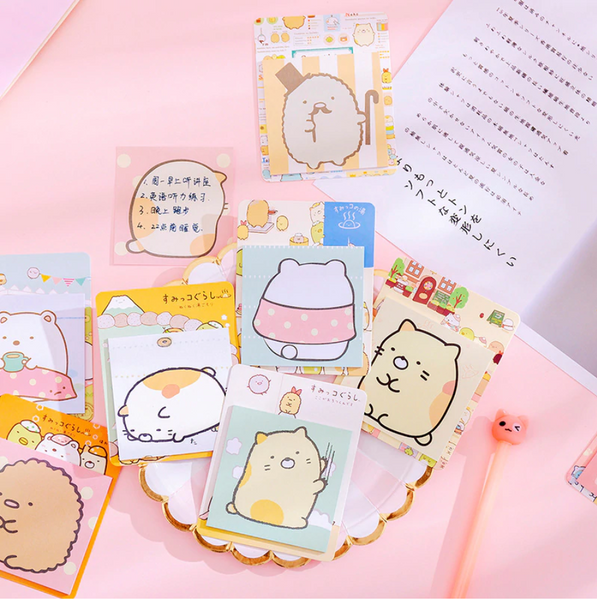 Kawaii Sumikko Gurashi Sticky Notes