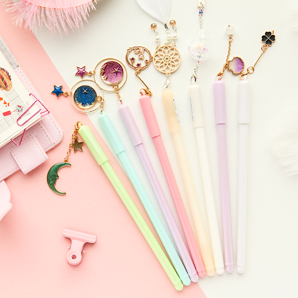 Kawaii Pendant Gel Ink Pens