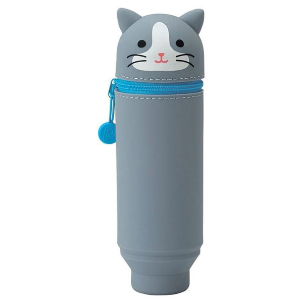 PuniLabo Cute Animal Stand Pen Case | Pen Holder | Pencil Case | Pen Stand