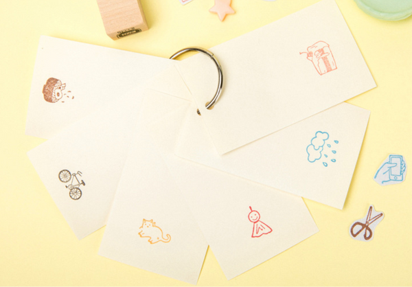 My Everyday Life Wooden Stamps