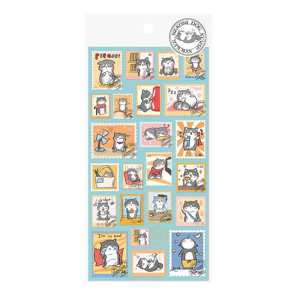 Nekoni Animal Stamp Stickers