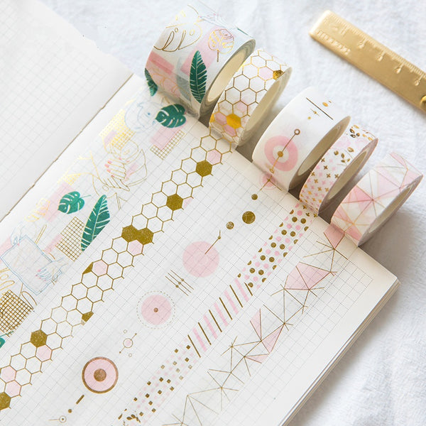 Gold Foil Decorative Masking Tape