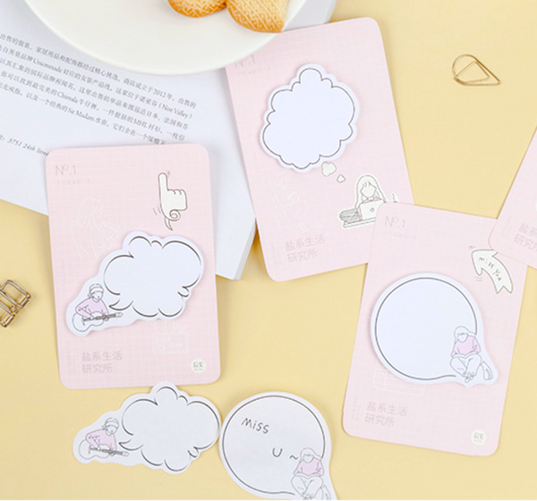 Thinking Bubble Sticky Notes