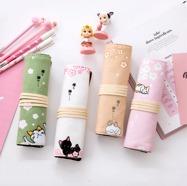 Hanami Roll Up Pencil Case