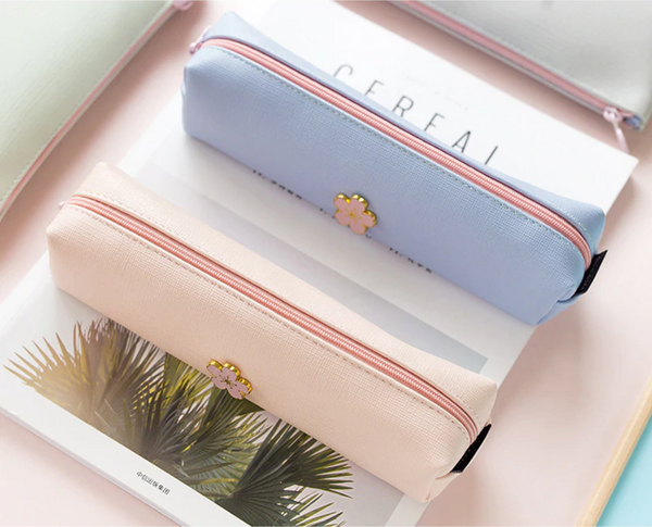 Sakura Square Pencil Case