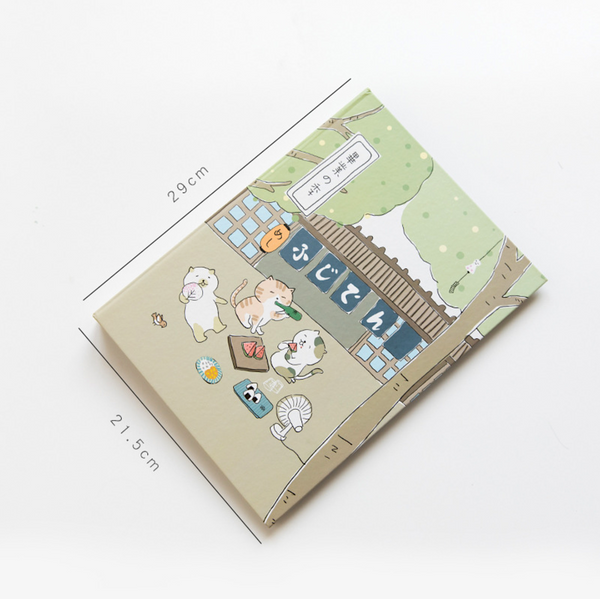 Cat Hanami Ring Binder