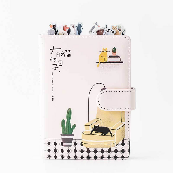 'Home Is Where the Cat Is' Personal Planner