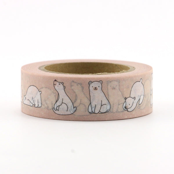 Polar Bear Washi Tape