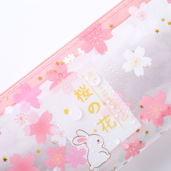 Cherry Blossom Usagi Pencil Case