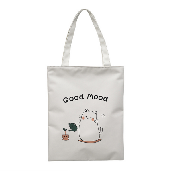 Today Is a Happy Day Tote Bag