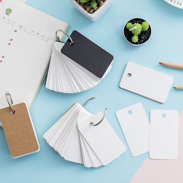 Unicolor Key Ring Memo Pad