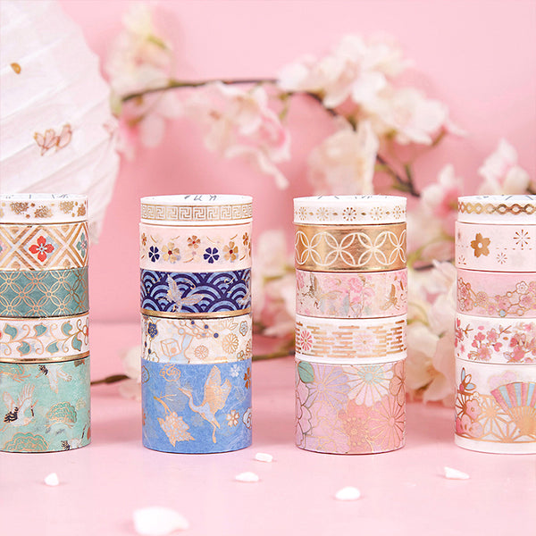 Golden Shikishi Washi Tape Set