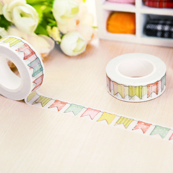 Colorful Flags Washi Tape