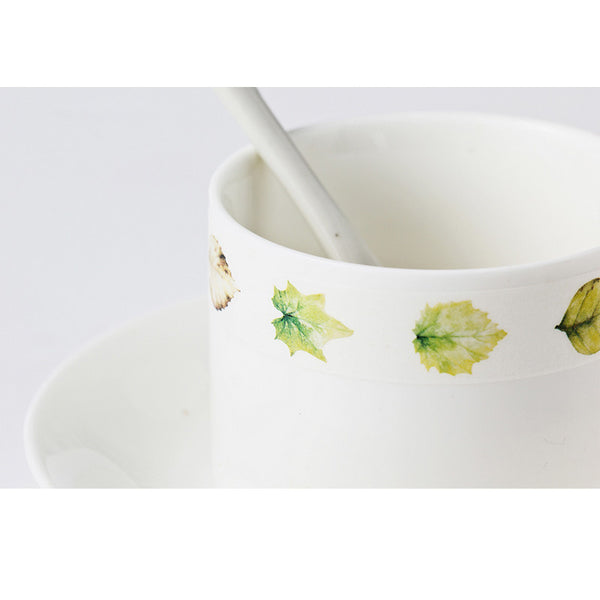 Cute Leaf Decorative Masking Tape