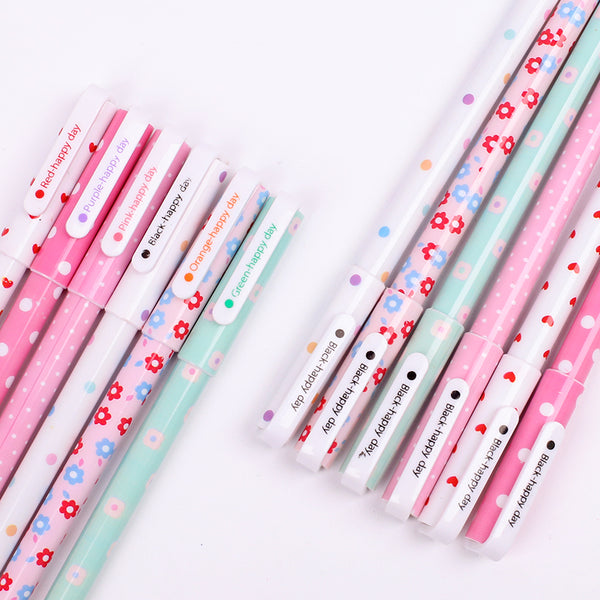 Kawaii Pattern Color Gel Pen 10-Pack 3