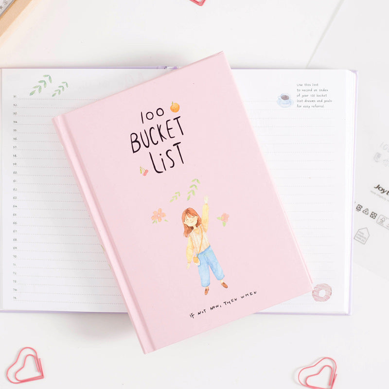 100 Days Bucket List Journal 4
