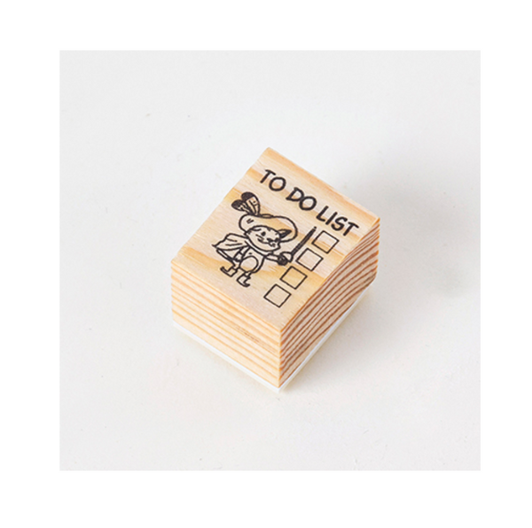 Journaling Friends Wooden Stamp