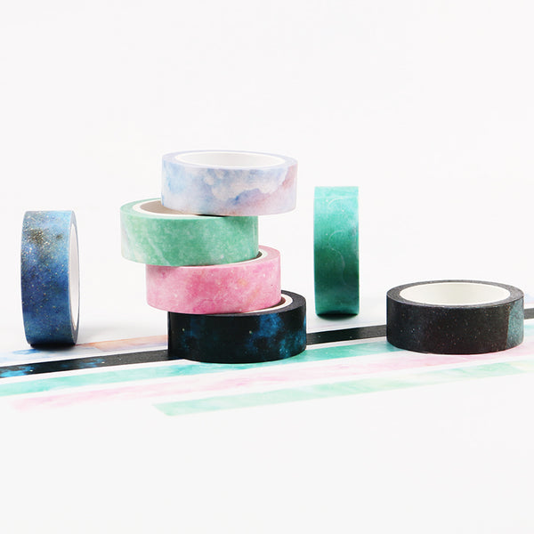 Galaxy Masking Tape 7-pack 4