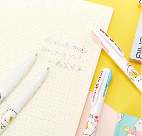 2 in 1 Molang Ballpoint Pen