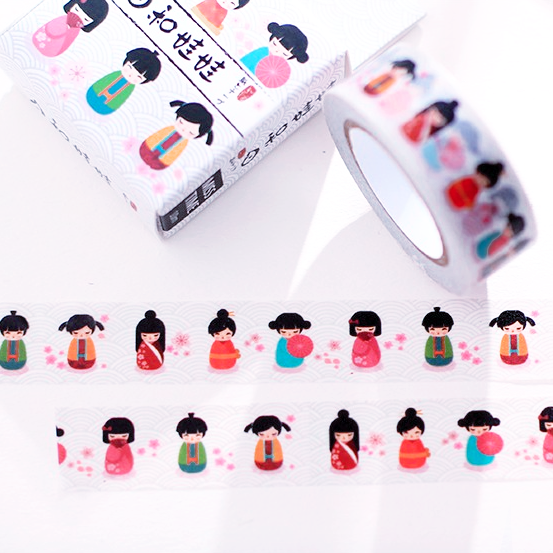 Kawaii Onnanoko Washi Tape