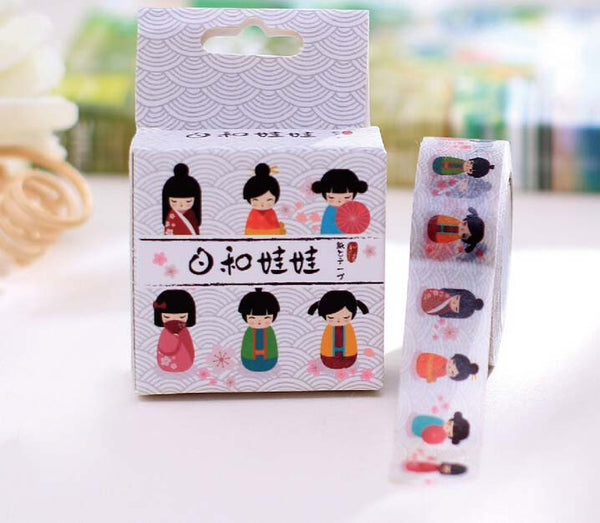 Kawaii Onnanoko Washi Tape 4