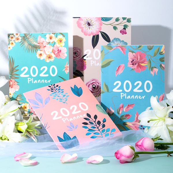2020 Floral Monthly Planner