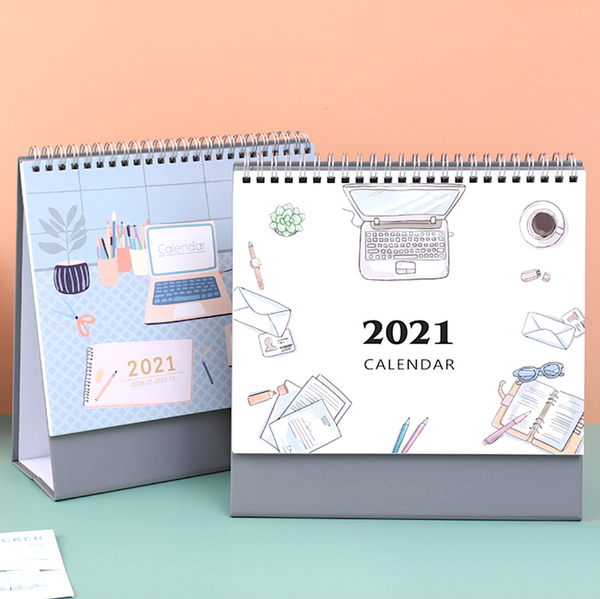 2021 Stay Productive Desk Calendar