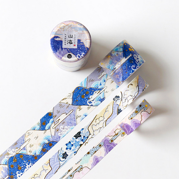 Natsu No Kaze Washi Tapes - Mountains