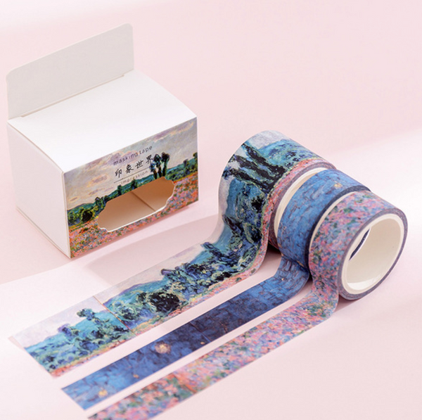 Decorative Washi Tape Set - Impressionism
