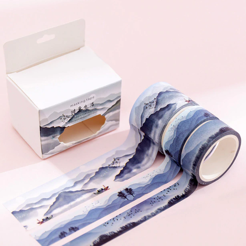 Decorative Washi Tape Set - Life of a Poet