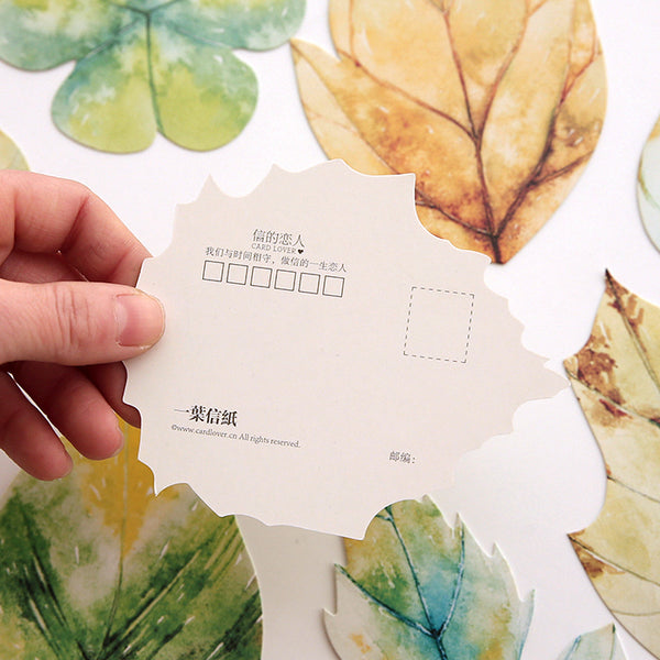 'Written on a Leaf' Greeting Cards | Post Card
