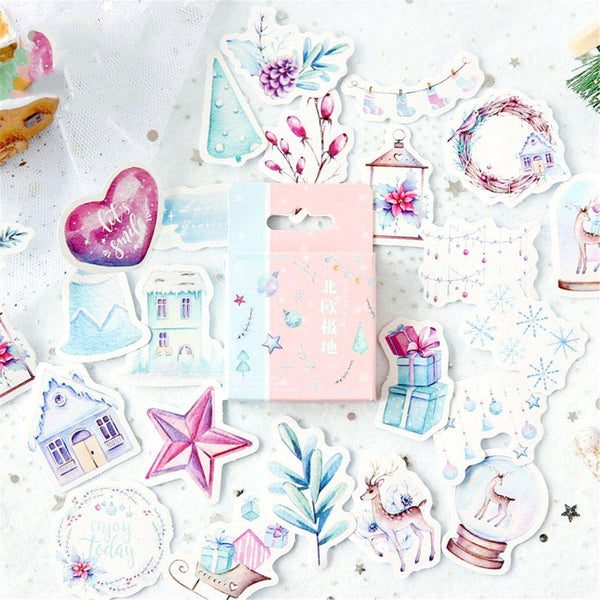 Winter Wonderland Paper Stickers
