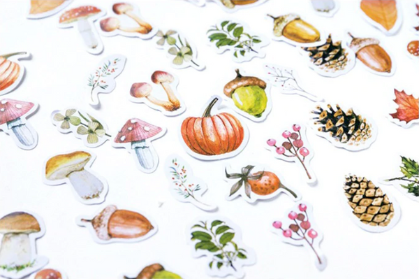 Autumn Forest Stickers